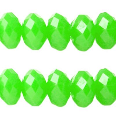 Acryl facetkraal neon groen (30x)