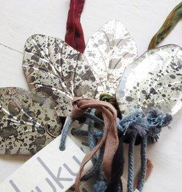 Nkuku Spiegelhangers leaf (2x)