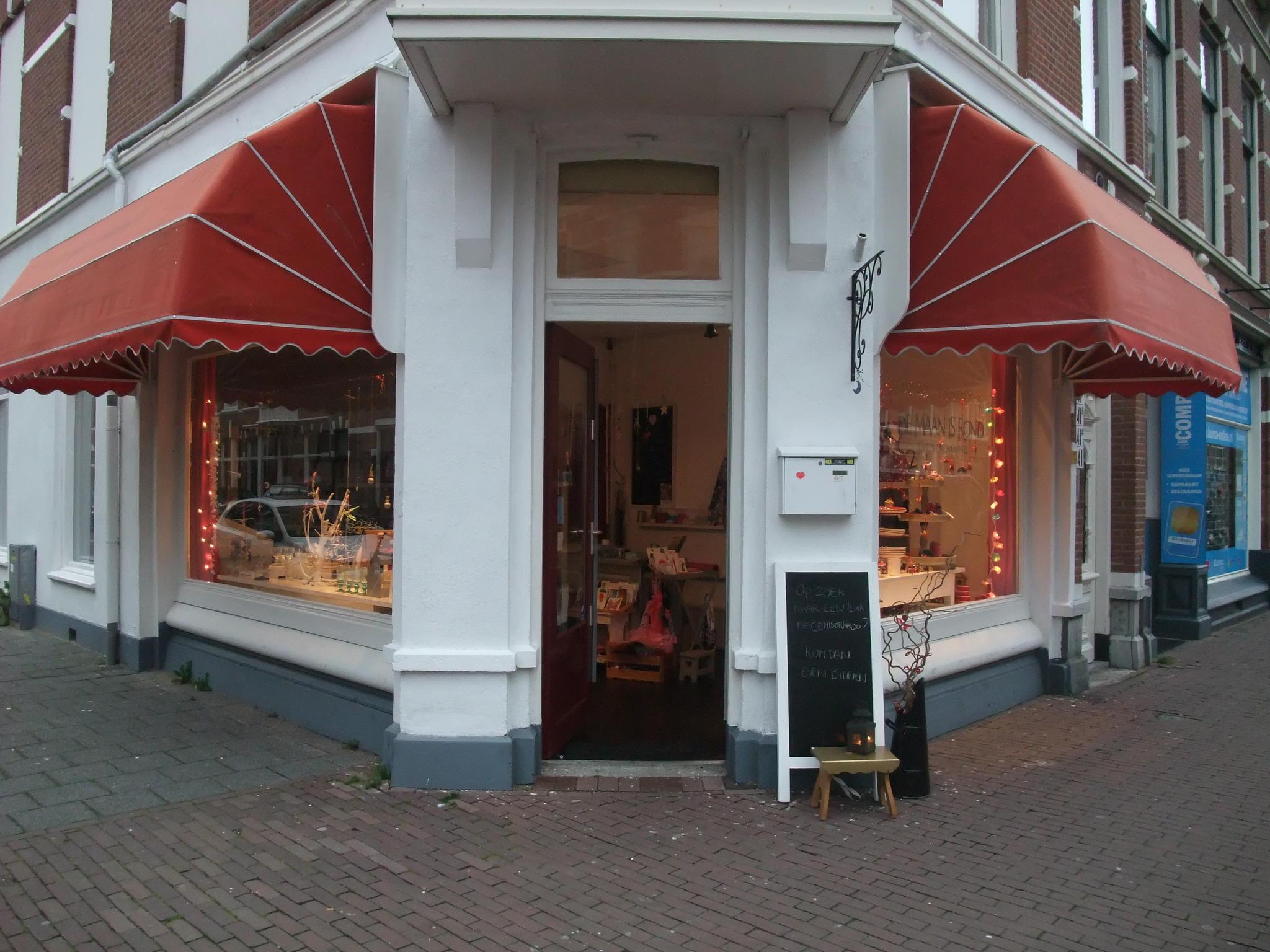 Foto vooraangezicht winkel