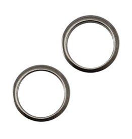 Dichte ring dq 8mm antraciet zilver (5x)