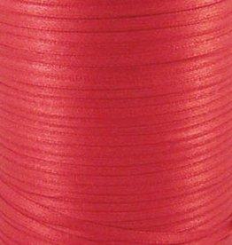 Satijnlint rood 3 mm (10x)