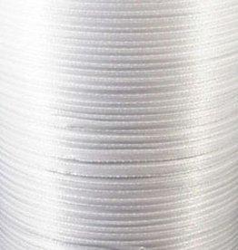 Satijnlint wit 3 mm