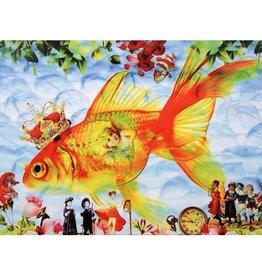 Kaartje van Caatje Kaart goudvis