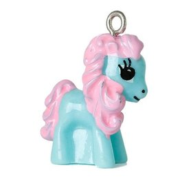 Bedel paard/pony lichtblauw (1x)