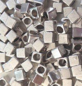 Kubuskraal zilverkleurig (18x)