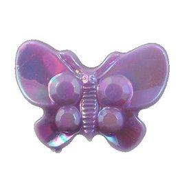 Paarse vlinderkraal (10x)