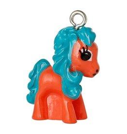 Bedel paard/pony oranje (1x)