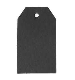 Zwarte label karton II (10x)