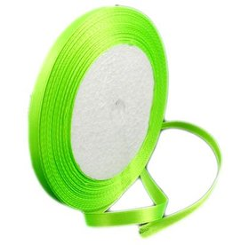 Satijnlint lime 6 mm (10m)