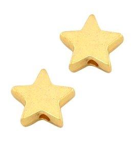 Sterkralen 10 mm goudkleurig (5x)