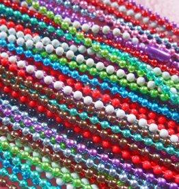 Gekleurde ball chains 70 cm