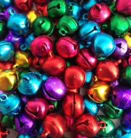 Gekleurde belletjesmix 12 mm (20x)