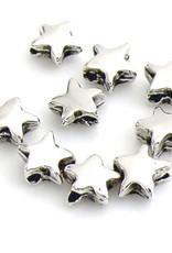 DQ sterkraal antiek zilver (5x)