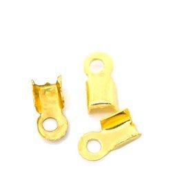 Koordklem goud 6 x 3 mm (30x)