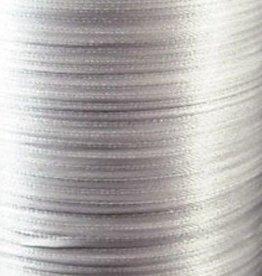 Satijnlint lichtgrijs 3 mm (10m)