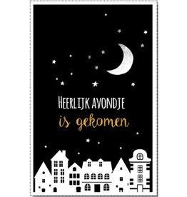 Miekinvorm.nl Mini-kaart heerlijk avondje is gekomen