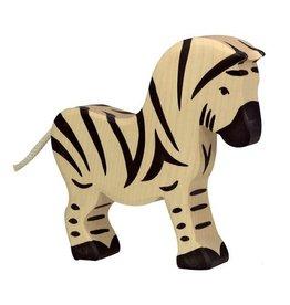 Holtziger Houten zebra groot