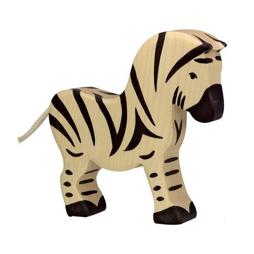 Holztiger Houten zebra groot