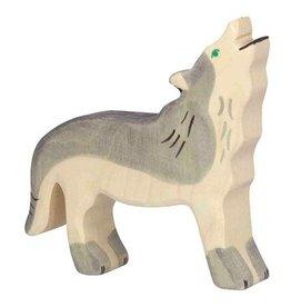 Holztiger Houten wolf