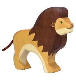 Holtziger Houten leeuw