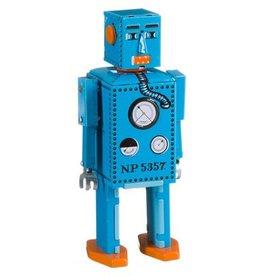 Mechato Vintage Robot Lilliput blauw