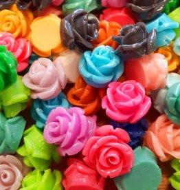 Roosjeskralen 11 mm diverse kleuren (1x)
