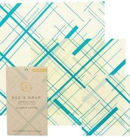 Bee's wrap Bee's wrap geometrisch set van 3 -assorti