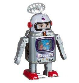 Mechato Vintage Robot met tv scherm
