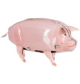 Polly the pig met opwindsleutel