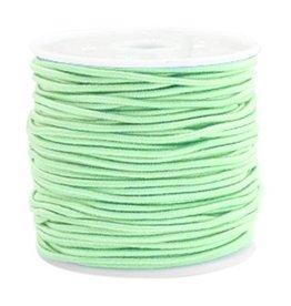 Elastiekdraad  crysolite groen 1.5 mm (3m)
