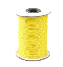 Waxkoord polyester geel1 mm (5m)