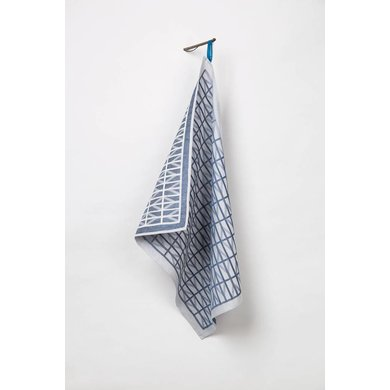 Raw Color Raw Color TextielMuseum Identity Blue Glazendoek