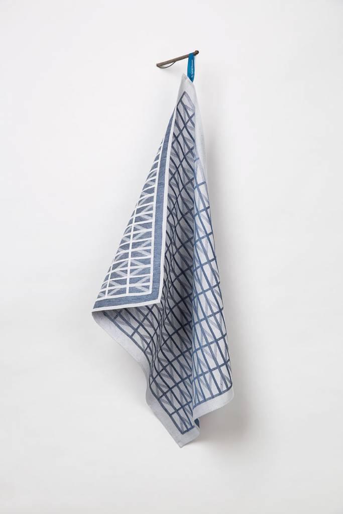 Raw Color Raw Color TextielMuseum Identity Blue Tea Towel - by ...
