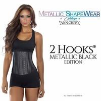 Metallic Latex 2 hooks kort model - Ann Chery