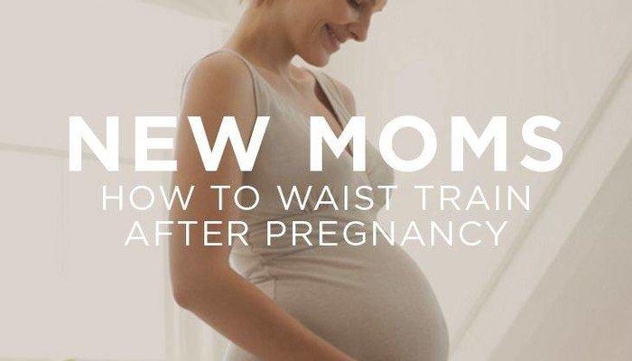 Waist Trainen na bevalling