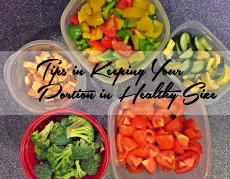 Portie controle Meal Prep