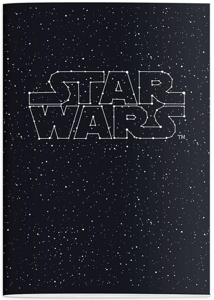 star wars schrift star wars a4 gelijnd 182stw210. Black Bedroom Furniture Sets. Home Design Ideas