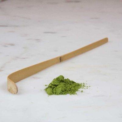 Matcha bamboo spoon