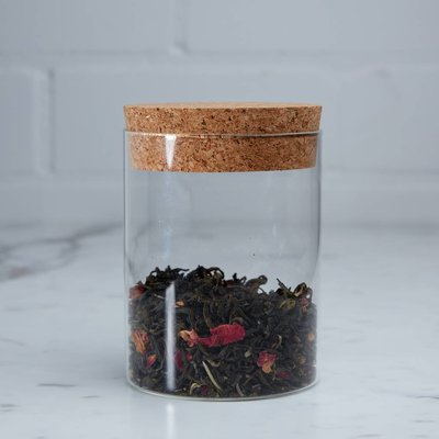 Tea storage glass