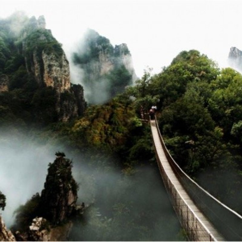 Wu Lu Mountain - organic