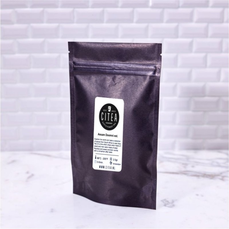Assam TGFOP1 Doomni estate - organic
