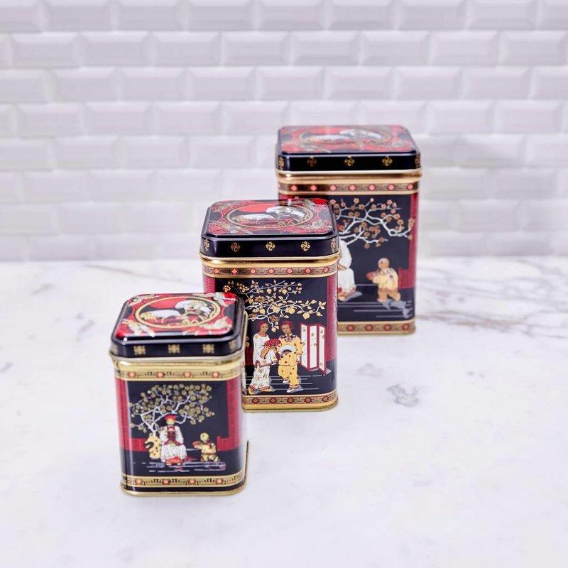 China Tin Tea Caddy