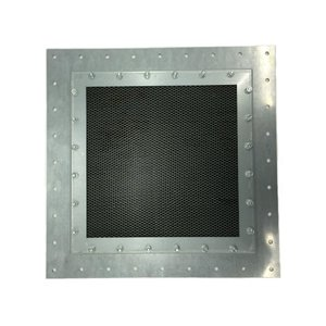 Honeycomb Vent Panel - Stainless Steel 40 GHz