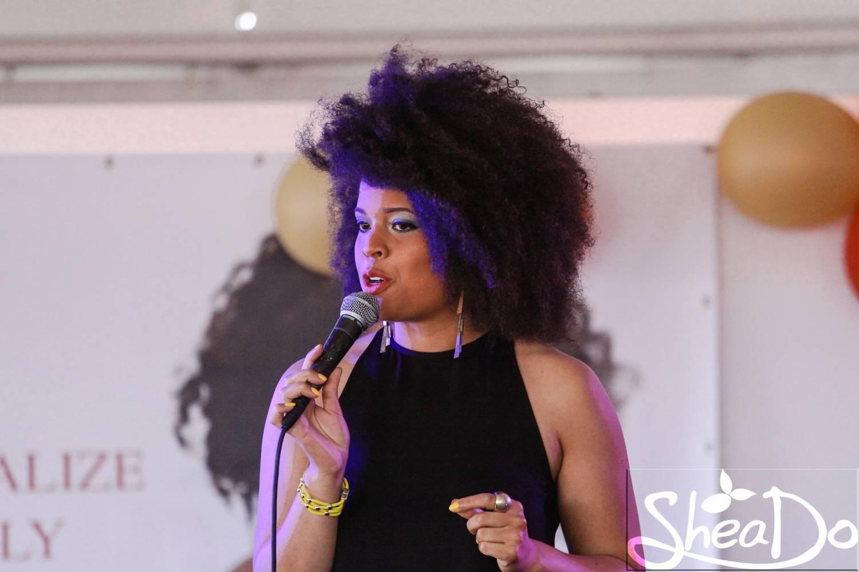 Video en foto's haarshow Fleur Noire