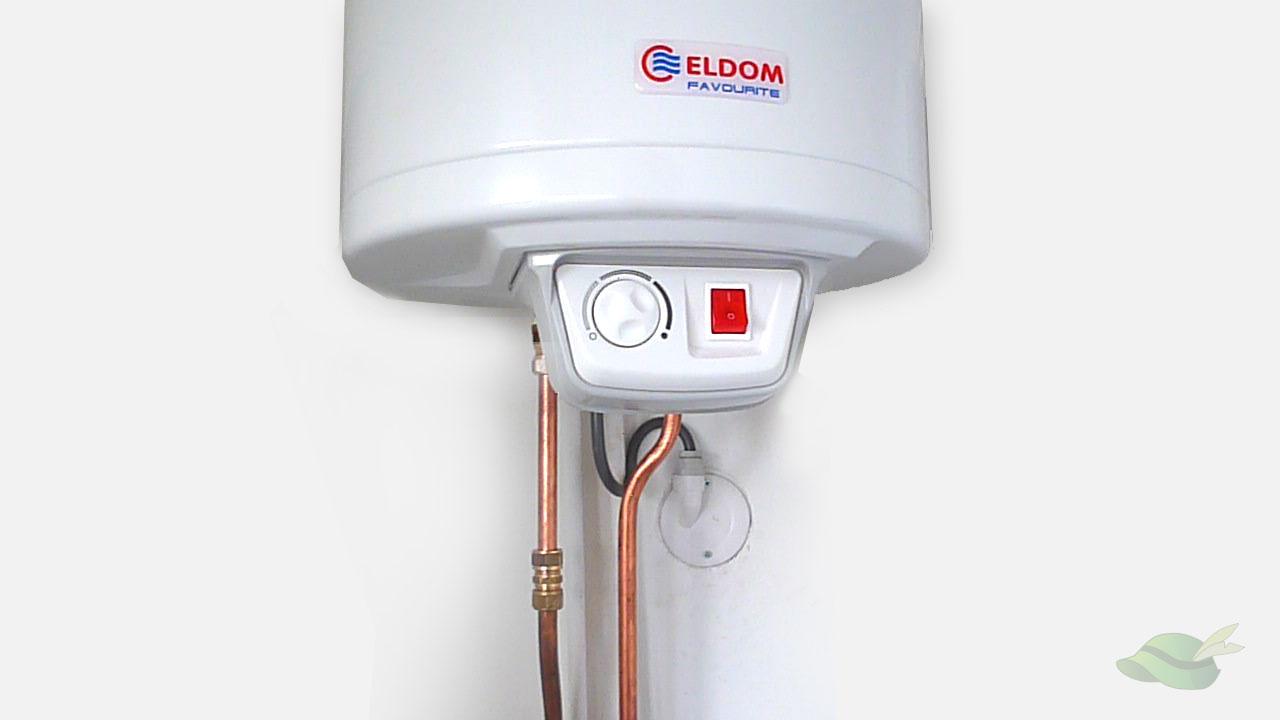 geplaatste boiler