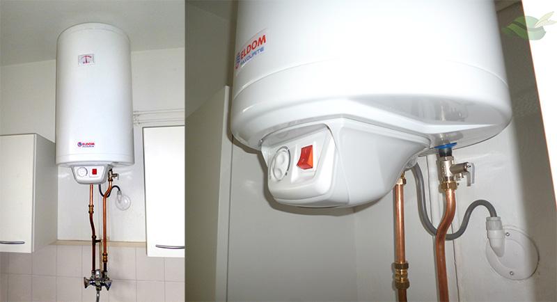 Boiler installeren