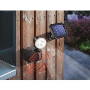 Esotec Solar PIR buitenlamp (grijs of zwart)