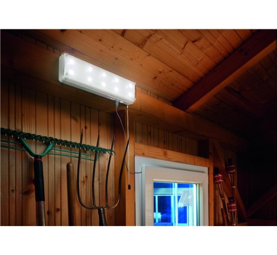 Binnenlamp op zon - 10 Leds 2 standen