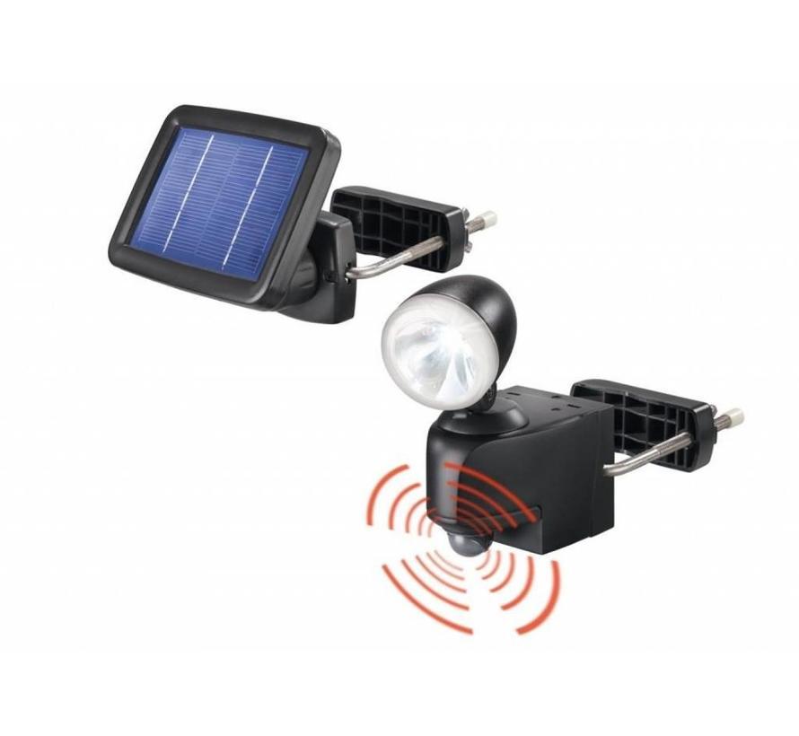 Solar PIR buitenlamp (grijs of zwart)
