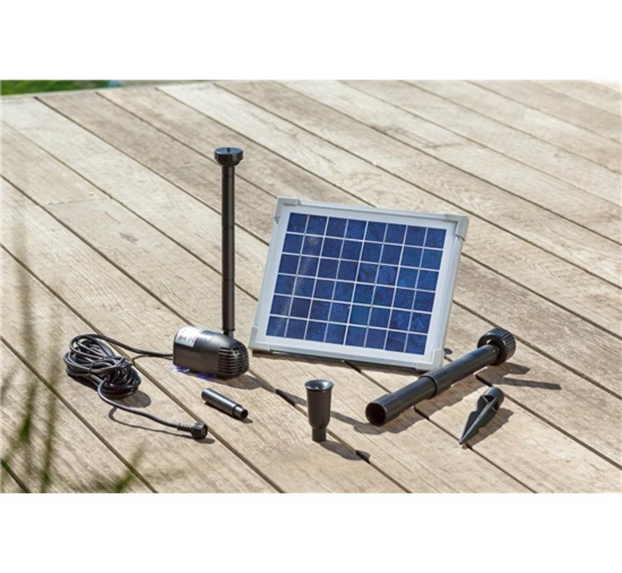 Solar vijverpomp 5W 470 l/h Komplettset